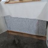 Gruesa flameado al aire libre Azulejos de bordillo / bordillo de granito