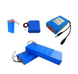 LiFePO4 Batteries Rechargeable 5200mAh 1s2p 3.7V Batterie au lithium avec Bis pour LED Light