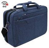 Saco para computador portátil de 15,6 polegadas Notebook Maleta Messenger Bag repelente de água da caixa do computador