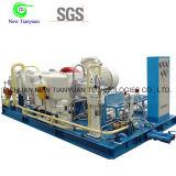 25MPa de Compressor van het Aardgas van de Druk CNG van de lossing