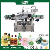P&M de automatische Dubbele Zij Zelfklevende Machine van de Etikettering voor Flessen