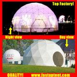 Удалите прозрачный белый ПВХ для использования вне помещений геодезических купол палатка Fastup