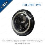'' phare 45W IP67 de lumière de travail du Wrangler DEL de la jeep 7