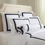 Van de Katoenen van 100% het Blad van het Bed Reeksen van het Beddegoed voor Hotel