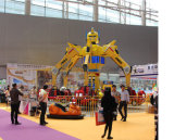 Walking Robot Ride Iron Man Robot para Centro Comercial/ Robot trajes para la venta