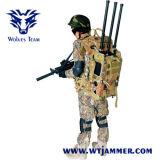 軽量のバックパックのIed UHF VHF GSM WiFi 3G 4G GPS 180Wの妨害機