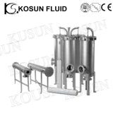 Aço inoxidável vinho cerveja de alta pressão (óleo) do alojamento do filtro de membrana de Água