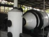 장비 (HUADU998)를 세련하는 가장 새로운 자전 폐기물 플라스틱
