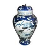 Vaso di ceramica cinese della mobilia antica