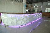 현대 바 카운터를 점화하는 상점 카운터 디자인 LED 가구 바