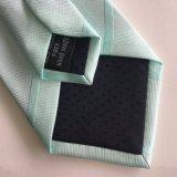 Cravate 2017 tissée par jacquard micro fabriqué à la main de polyester de fibre de Newliest Shengzhou