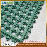 Stuoie di gomma perforate dell'anti cucina rossa di affaticamento del fornitore della Cina