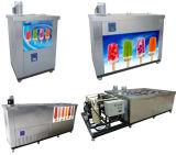 Pequeña máquina comercial rápida del Popsicle de Colling para la venta