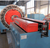 Edelstahl-gewölbte Metalschlauch-Draht-Einfassungs-Maschine