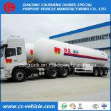 Tri-Axle 56m3 Semi-Trailer transporte de GPL 25toneladas trailer do depósito de gás para a Nigéria