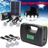 移動式充満5W 3Wの太陽エネルギーシステム太陽電池パネルライトが付いている太陽ランプ