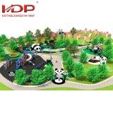 2018 Mais Populares grande tema Panda parque ao ar livre Park