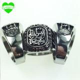 선물 직접 투하 출하를 위한 Ring Muhammad 반지 숙녀 스테인리스