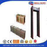 Detetor de metais do frame de porta para a caminhada interna do uso através dos detetores de metais