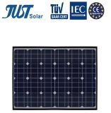 セリウムCQC TUVの証明の安い110Wモノクリスタル太陽電池パネル