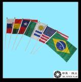 지팡이 깃발, 물결치는 깃발, 손 깃발