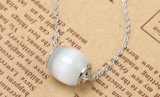S925 Zuiver Zilver met de Opalen Tegenhanger van Beed van de Overdracht