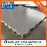 4X8 feuille épaisse mate de PVC de plastique du blanc 1mm pour des meubles