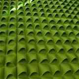 실내 옥외 벽 커튼 재배자 펠트 원예식물 부대