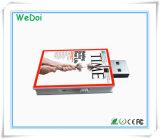 Горячая продажа книги флэш-накопитель USB с индивидуального логотипа (WY-PL63)