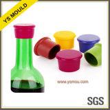 Molde plástico del casquillo del vino
