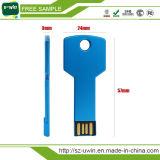 Figura istantanea di chiave di azionamento del USB dei campioni liberi 8GB