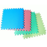 Kundenspezifische Muster EVA-Schaumgummi-Matte flexible EVA-Fußboden-Matte