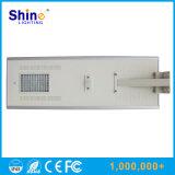 réverbère 80W solaire Integrated avec le certificat de RoHS de la CE IP65