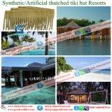 Tiki小屋のTiki棒艶出しリゾート7のための総合的なやし屋根ふき材料の人工的な屋根ふき材料