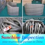Для использования внутри помещений садовой мебелью качества / плетеной мебелью Pre-Shipment инспекционной службы