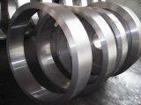 이음새가 없는 구른 반지, 대직경 방위, 돌리기 방위 (F003)를 위한 위조된 강철 반지
