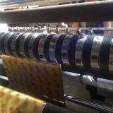 Máquina de corte e rebobinação de filme de plástico de alta velocidade PLC Control