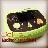 Defi 6 Meditech Geautomatiseerde Externe Defibrillator met Infrared voor de Transmissie van Gegevens
