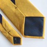 Legame su ordinazione Handmade della stampa in legami di seta per gli uomini (PT006)