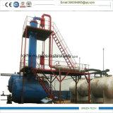 El aceite negro grueso Maquinaria reciclaje 10 toneladas por día