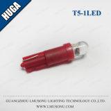 Lampada chiara LED automatico T5 chiaro della lampadina del cuneo dell'automobile di qualità LED di CC di T5 1LED 12V buona