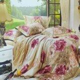 Beddegoed het van uitstekende kwaliteit die van de Druk voor het Beddegoed van de Dekking van het Dekbed van het Dekbed van het Huis/het Bed Setprinting wordt geplaatst van het Huis
