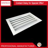 Ventilations-wasserdichter Seitenwand-Wetter-Aluminiumluftschlitz