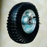 Roda de borracha pesada de alta qualidade de 8 polegadas