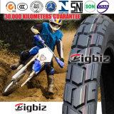 Neumático/neumático durables de la motocicleta 90/90-17 sin tubo en África
