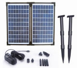 20W Solar Brushless Pump Kit per Fountain