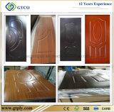 Puerta primera del precio HDF de la puerta del panel de piel moldeado 3m m competitivo/del piel de la puerta de la melamina HDF/blanca de HDF