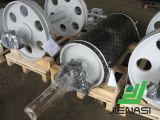 Шкив кабеля компонентов транспортера головной для системы ленточного транспортера