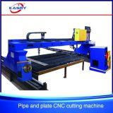 Máquina de estaca quente do plasma do CNC da venda para a folha da placa da tubulação