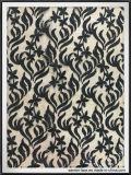 敏感な花の網のスパンコールの刺繍のレース